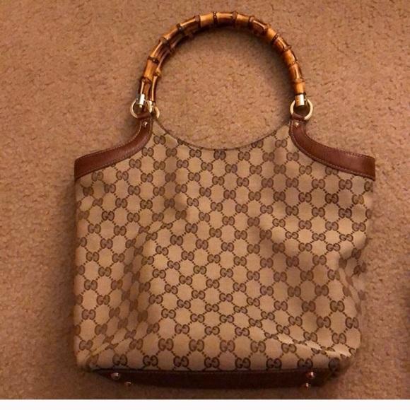 Gucci Handbags - Authentic logo GUCCI bag